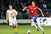 Nemanja Matić, a Chelsea star, in the jersey of Serbian national team (photo: personal archive)