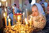 The Little Russian at the Liturgy (Photo: From the book Medallions of Russia by Violeta Rašković Talović)